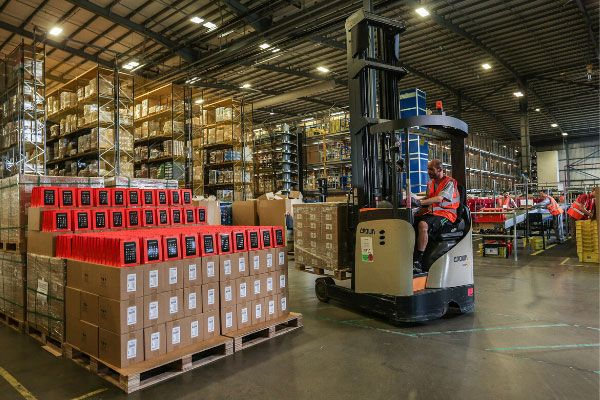 Warehouse Transport Control System