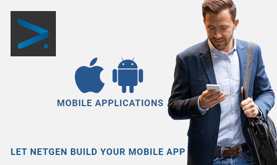 Let Netgen build your mobile app to simplfy your business processes